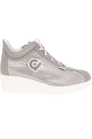 Ruco Line RUCO LINE WOMEN'S RUCO226AG GREY FABRIC SNEAKERS