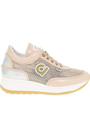 Ruco Line RUCO LINE WOMEN'S RUCO1304BABE BEIGE FABRIC SNEAKERS