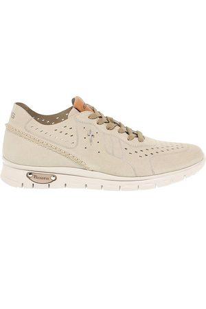 4US Cesare Paciotti Men Sneakers - MEN'S 4USWU2G GREY SUEDE SNEAKERS