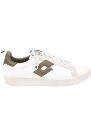 Lotto Men Sneakers - MEN'S 212387SNOWWHITE LEATHER SNEAKERS