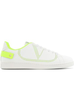 VALENTINO MEN'S TY2S0C04MSS15K LEATHER SNEAKERS