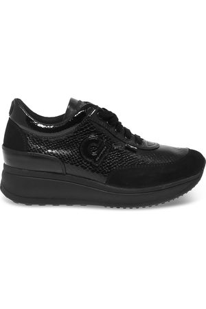 Ruco Line RUCO LINE WOMEN'S RUCO1304APN LEATHER SNEAKERS