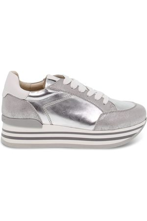 Janet Sport WOMEN'S JSPO45781 LEATHER SNEAKERS