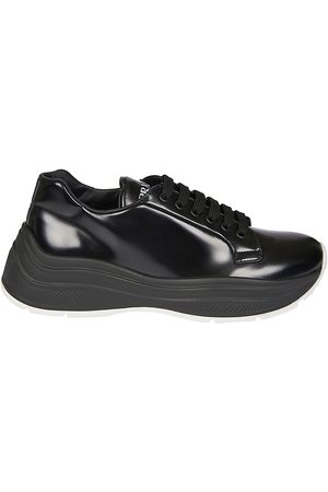 Prada MEN'S 4E3457P39F0IAU LEATHER SNEAKERS