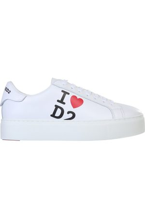 Dsquared2 WOMEN'S SNW0008015032101062 LEATHER SNEAKERS