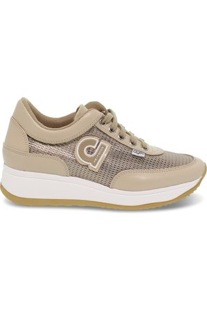 Ruco Line RUCO LINE WOMEN'S RUCO1304BP BEIGE POLYESTER SNEAKERS