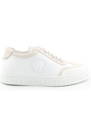 VERSACE WOMEN'S FSX081CFCCVF066 LEATHER SNEAKERS