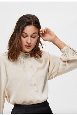 Selected Harmony ls shirt sandshell