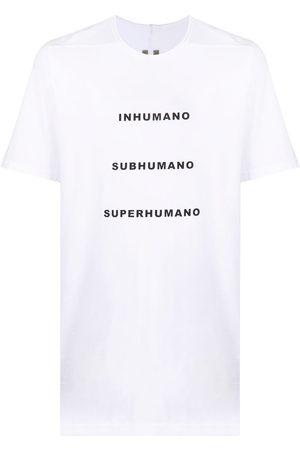 Rick Owens DRKSHDW Level Tee Printed T-Shirt