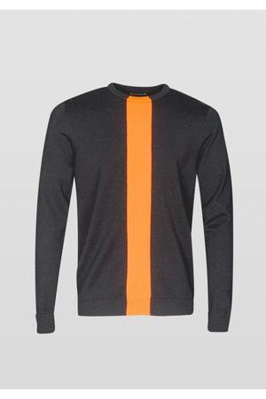 Antony Morato Pannel Front Knit Sweatshirt Colour:
