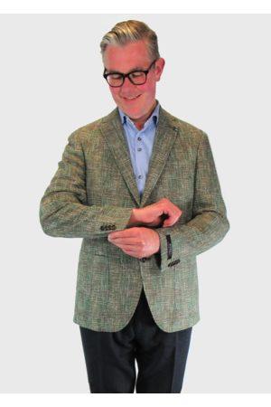 Digel Enrico Green Textured Blazer