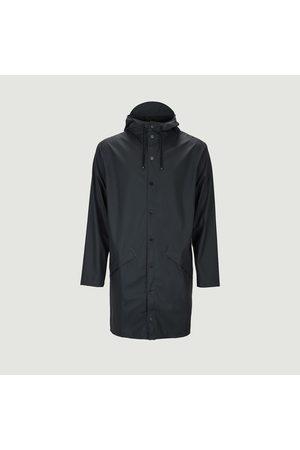 Rains Long Raincoat Navy