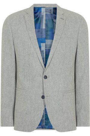 Remus Uomo Light Flannel Blazer Grey Colour: Grey