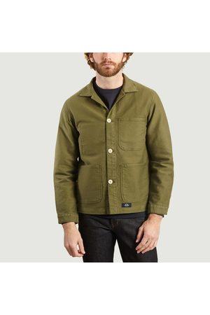 BLEU DE PANAME Counter jacket Khaki militaire