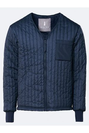 Rains Liner Jacket in Blue