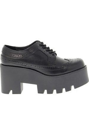 Windsor WOMEN'S WINDFOXY LEATHER LACE-UP SHOES