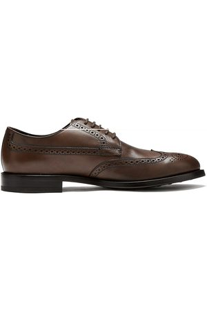 Tod's Leather Brogue (Brown)