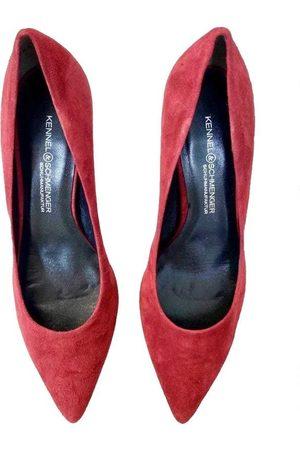 Kennel & Schmenger Dark Red Enny suede shoe 41-64600-408
