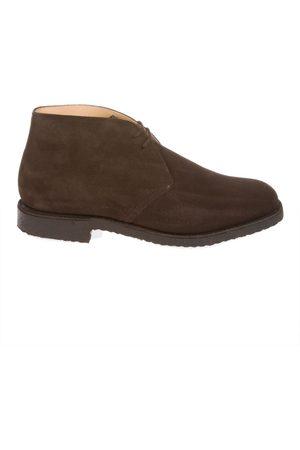 Church's Men Ankle Boots - MEN'S RYDER81CASTOROBROWN SUEDE ANKLE BOOTS