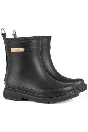 Ilse Jacobsen Isle Jacobsen Black Short Rubber Boot