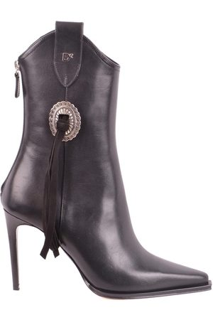 Dsquared2 Women Ankle Boots - WOMEN'S ABW0044129000012124 LEATHER ANKLE BOOTS