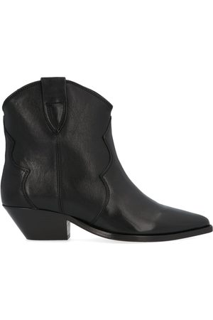 Isabel Marant Women Ankle Boots - WOMEN'S BO017420P047S01BK LEATHER ANKLE BOOTS