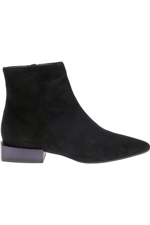 vic matiè Women Ankle Boots - VIC MATI WOMEN'S IT6912BLACK SUEDE ANKLE BOOTS