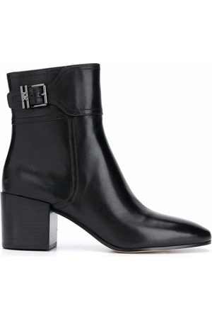 Michael Kors WOMEN'S 40T0KNME5L001 LEATHER ANKLE BOOTS