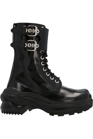 Maison Margiela Men Ankle Boots - MEN'S S37WW0102P1993T8013 LEATHER ANKLE BOOTS