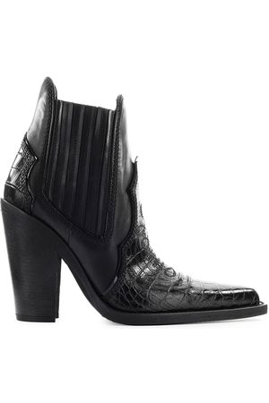 Dsquared2 WESTERN CROCODILE PRINT ANKLE BOOT
