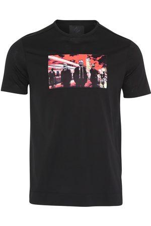 Limitato City Boys Mercerised Cotton T-Shirt (Black)