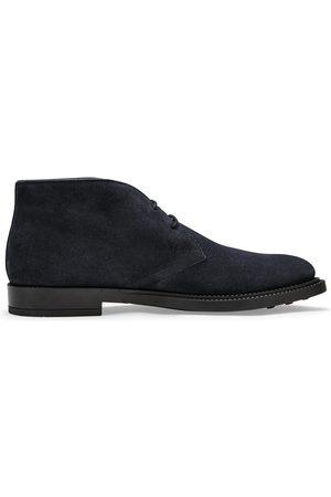 Tod's Chukka Boot (Navy)