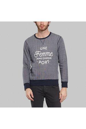Sacrebleu A Woman At Each Port Sweatshirt Navy
