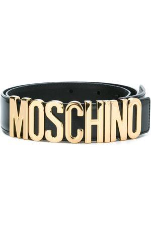 Moschino WOMEN'S A801280070555 LEATHER BELT