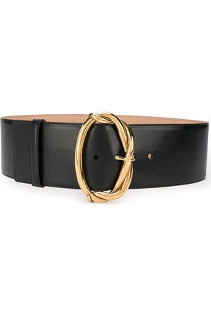 Alexander McQueen Women Belts - WOMEN'S 6214031BR0T1000 LEATHER BELT