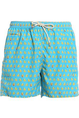 MC2 SAINT BARTH Men Swim Shorts - MEN'S LIGHTINGMICROFANTASYDUC31 LIGHT POLYESTER TRUNKS