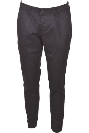 CRUNA MEN'S NEWTOWN260BLU COTTON PANTS