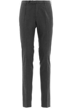 Incotex MEN'S 1GWT459223R920 GREY COTTON PANTS