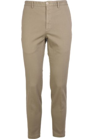 Incotex MEN'S ZR851Z4244W407 BEIGE COTTON PANTS