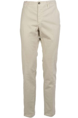 Incotex MEN'S 10S12640637021 BEIGE COTTON PANTS