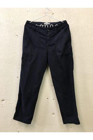 YMC Patch Pocket Trousers - NAVY
