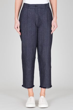 FOLK CLOTHING FOLK Jed Trouser - INDIGO