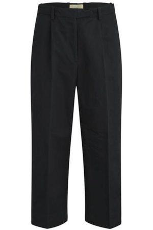 FOLK CLOTHING FOLK Wide Pleated Trousers