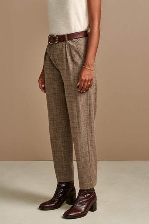 Bellerose Villa Check Trousers
