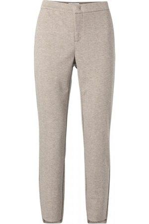 YAYA Women Stretch - Stretch Trousers in Herringbone