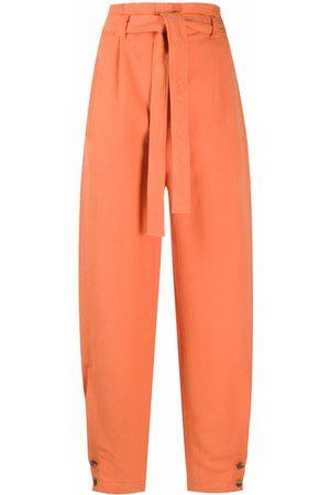 Alberta Ferretti WOMEN'S A032401230061 LINEN PANTS