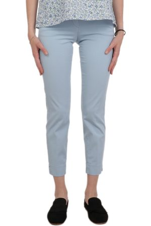 VIA MASINI 80 WOMEN'S P20M616LE840 LIGHT COTTON PANTS