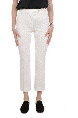 VIA MASINI 80 WOMEN'S P20M636K634 COTTON PANTS