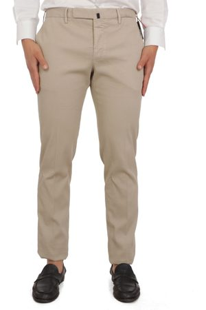 Incotex MEN'S 1AGW8290298411 BEIGE COTTON PANTS