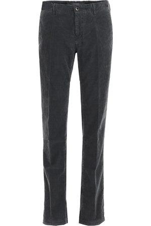 Incotex MEN'S 12S10040181920 GREY COTTON PANTS